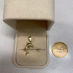 Jewelry - 10k Dolphin Pendant